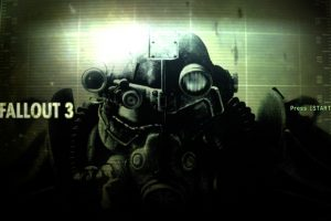 Fallout3 タイトル画面