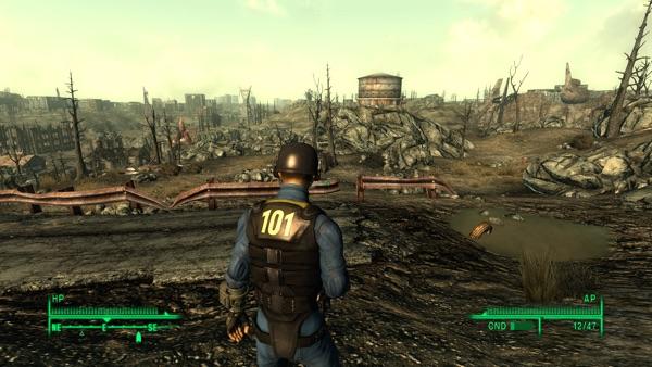 Fallout3 キャピタルウェイストランド