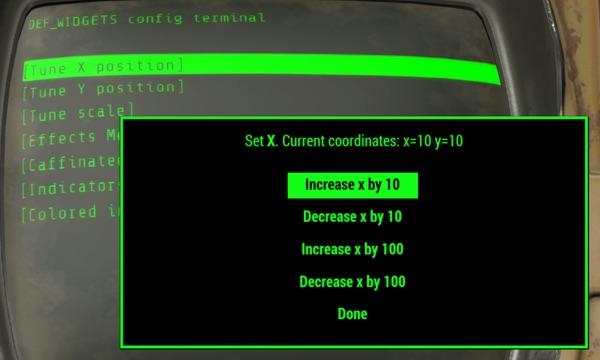 Fallout4 HUD MOD2
