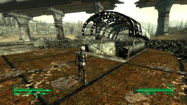 Fallout3 西メトロ駅