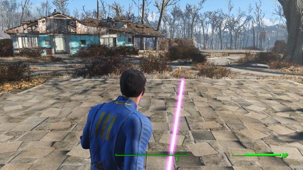 Fallout4 Lazer Sabers