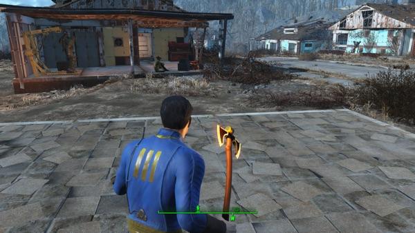 Fallout4 Viking Battle Axe 2
