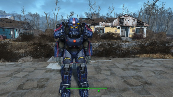 T-60 Gipsy Danger Power Armor Paint