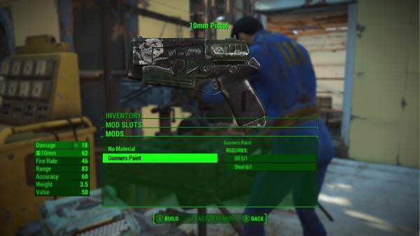 Fallout4 Creation Club ガンナーテクスチャパック