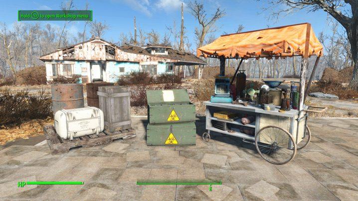 Fallout4 クラフトMOD