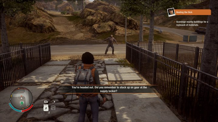 State of Decay 2 ゲームの大まかな流れ