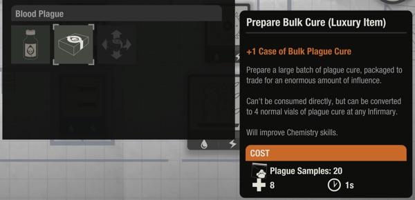 Prepare Bulk Cure