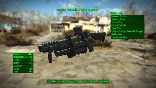 Fusillade Grenade Launcher2
