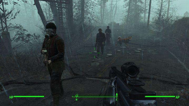 Fallout 4 NPCs Travel