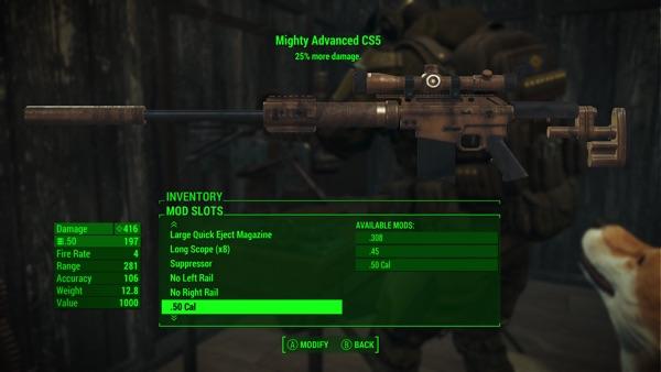 Fallout 4 マイティCS5