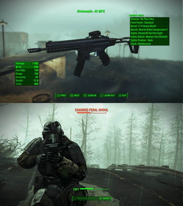 Fallout 4 SIG Sauer MPX