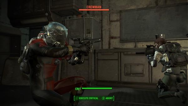 Fallout 4 モーガンスペーススーツ