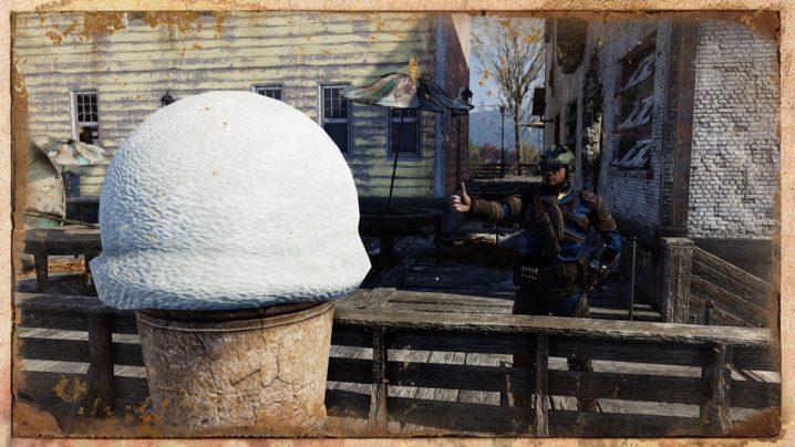 Fallout 76 アイスクリーム