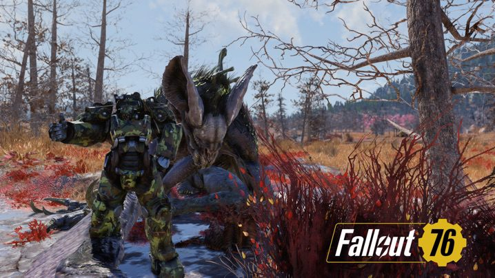 Fallout 76 スコーチビースト