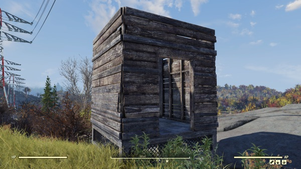 Fallout 76 木造の建築物1