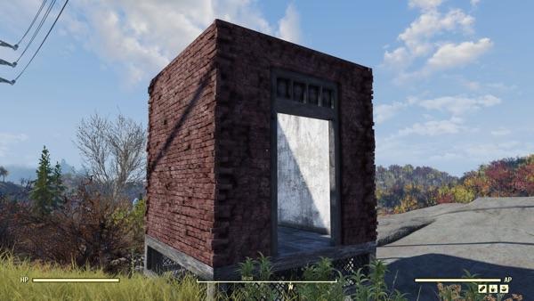 Fallout 76 レンガの建築物