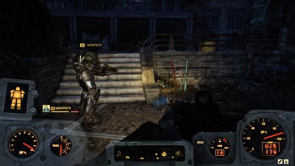 Fallout 76 チームプレイ