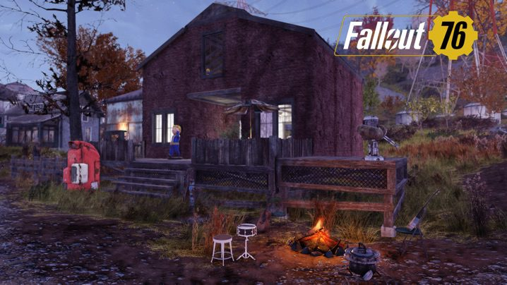 Fallout 76 新しい家