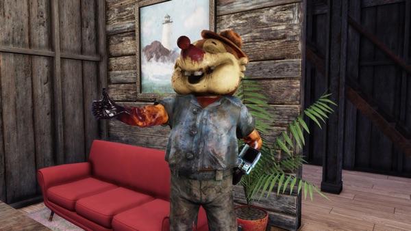 Fallout 76 ボロボロのモグラ