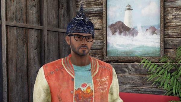 Fallout 76 アルミホイルの帽子2