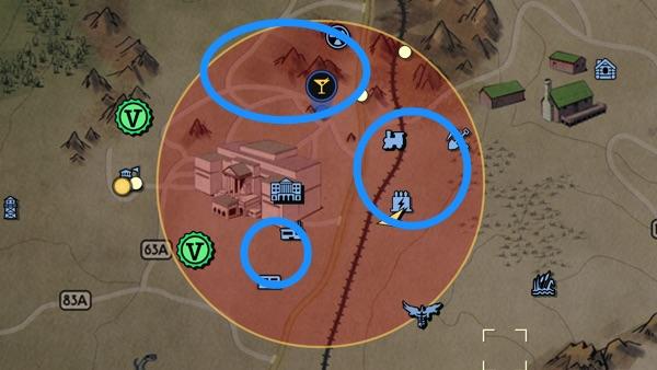 Fallout 76 ホワイトスプリング ブラストゾーン