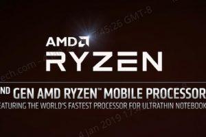 第2世代Ryzen Mobile