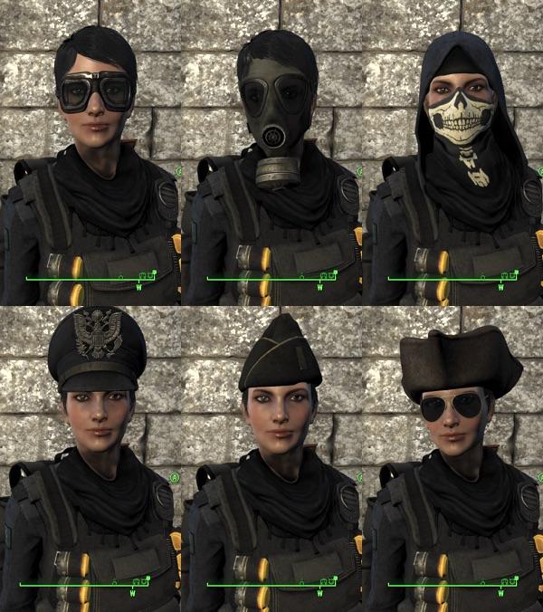 Militarized Minutemen ゴーグルやヘルメット、帽子