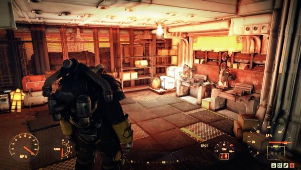 Fallout 76 ヘッドランプ