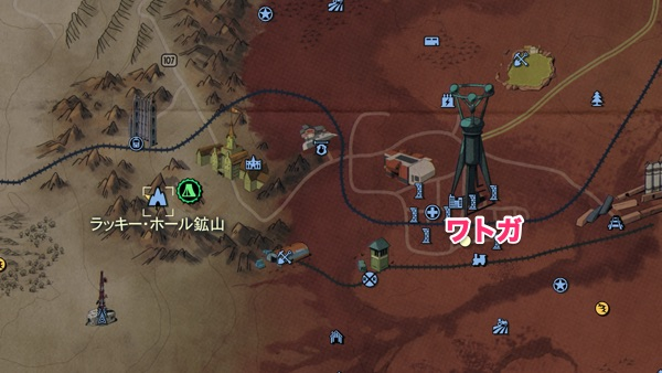 Fallout 76 ラッキー・ホール鉱山