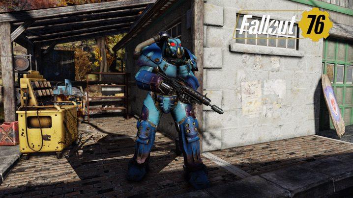 Fallout 76 X-01クアンタム