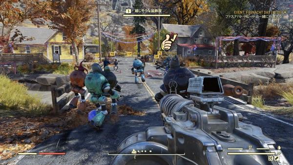 Fallout 76 ファスナハト・パレード2