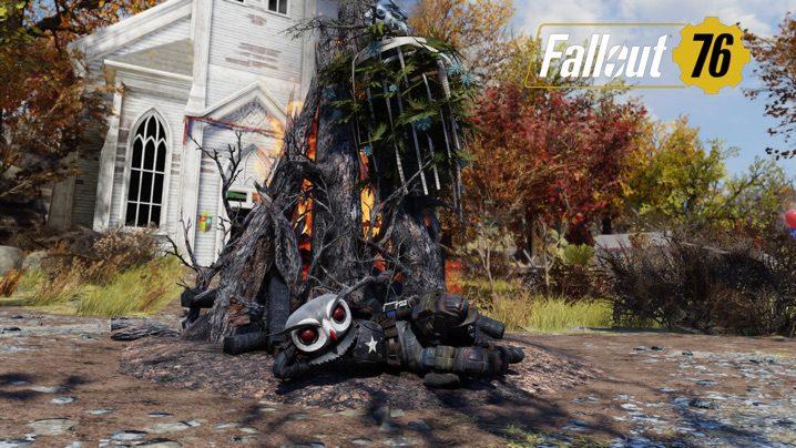 Fallout 76 フクロウマスク