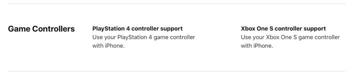 iOS 13 対応コントローラー