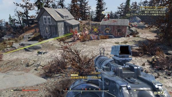 Fallout 76 本物のシープスカッチ2