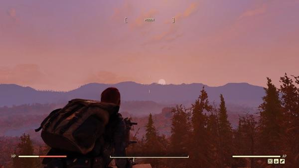 Fallout 76 日の出