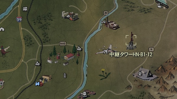 Fallout 76 中継タワーHN-B1-12