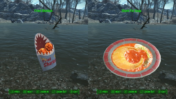 FallSharkで作れる料理