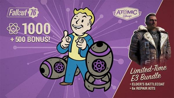 Fallout 76 エルダーのバトルコート2