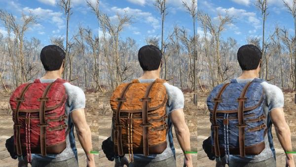 Scav Backpack バリエーション