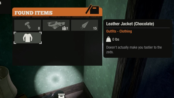 State of Decay 2 服を発見