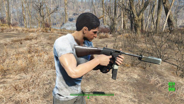 MAS-38 Submachine Gun