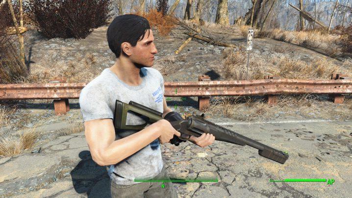 MTs-255 Shotgun Revolver