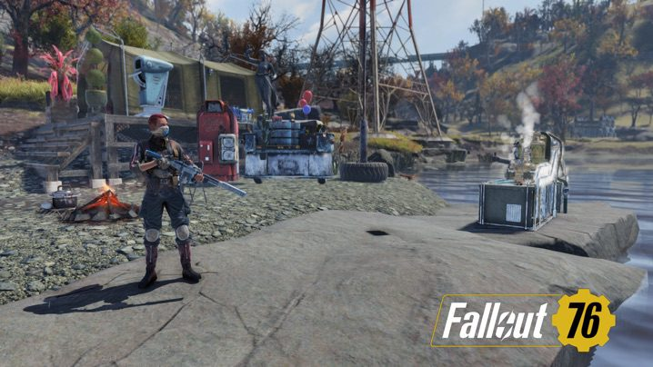 Fallout 76 新キャンプ