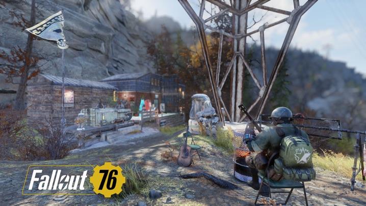 Fallout 76 新C.A.M.P.