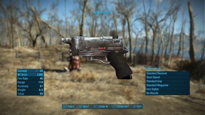 N96 Prototype Pistol