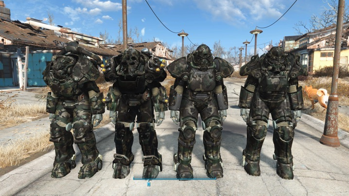 Army Marpat Power Armor Set