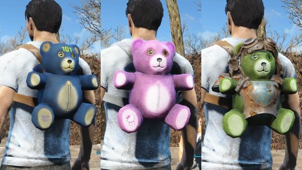 TeaddyBear Backpack2