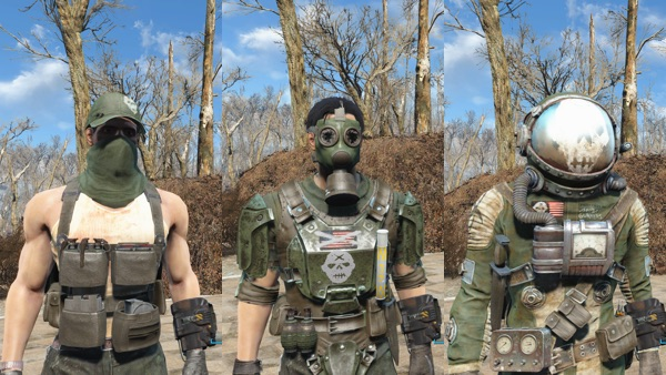 Gunner Outfit Pack3
