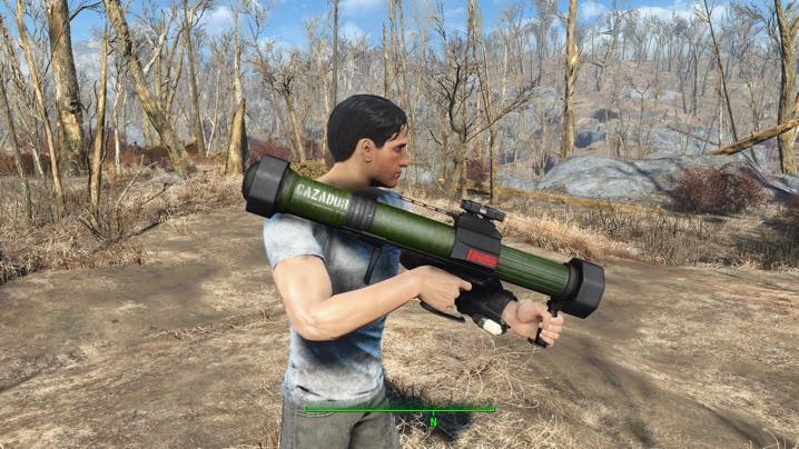 Cazador Missile Launcher