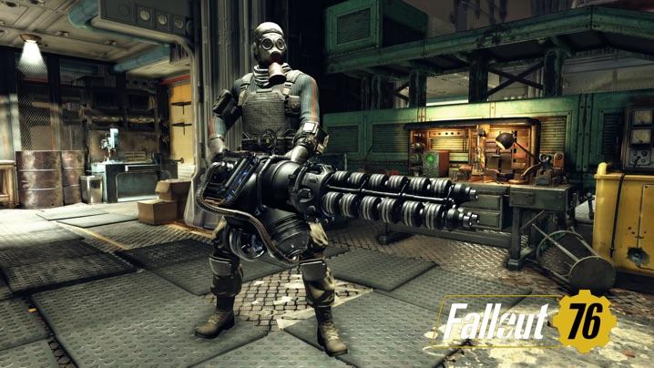 ミニガン fallout76 ガウス